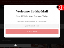 FREE Shipping On Most Purchases At Sky Mall