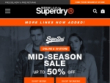 Up To 50% OFF Sale At Superdry