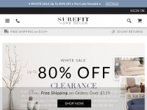 10% OFF SureFit Coupon W/ Email Sign-Up