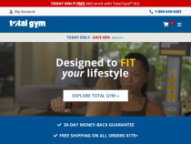 Total Gym Direct Coupons 60% OFF Total Gym XLS + FREE Shipping