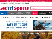 FREE Shipping On Any Order Over $99 At TriSports