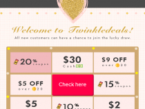 Twinkle Deals Coupon 13% OFF On All Orders + FREE Shipping
