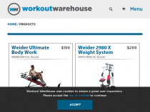 Weider Discount Code Up To 75% OFF FREE Weights