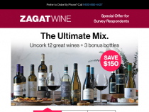 ZagatWine Coupon March 2013