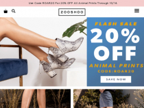 ZOOSHOO Promo Code 15% OFF All Orders + FREE Shipping