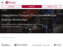 $20 OFF The Medjet Normal Two-year Family Membership