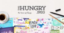 Hungry Jpeg Coupon 10% OFF When You Tweet