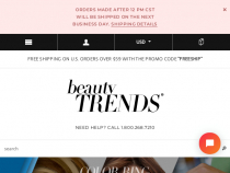 BeautyTrends Coupon Code FREE Shipping On $49+