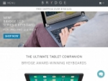 Flat Fee Shipping on Any US & UK Order For $5 At Brydge Keyboards