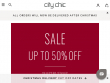 Up To 50% OFF Sale Items At City Chic Australia