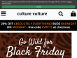 Up To 50% OFF With Special Offers At Culture Vulture UK