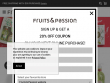 FREE Shipping On Orders Over $55 At Fruits and Passion Canada