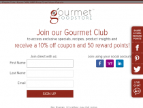 Gourmet Food Store Coupon Best Sellers