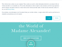 Sign Up & Get 20% OFF Coupon Code From Madame Alexander