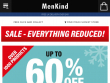 Up To 75% OFF Sale Items + FREE Delivery At Menkind UK