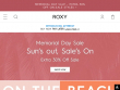 30% OFF Your First Purchase Of 1 Item With Email Sign Up At Roxy