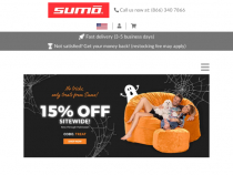 Sumo Lounge Coupon Code 10% OFF $199+