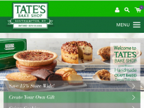 Sign Up At TatesBakeShop.com And Get 20% OFF Coupon