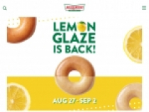 Earn Points W/ Rewards Program At Krispy Kreme