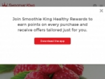 Sign Up For Offers From Smoothie King
