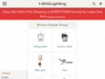 1 800 Lighting Promo Code $20 OFF Orders Over $100