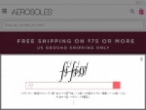 Up To 50% OFF On All Sandals + FREE Shipping At Aerosoles