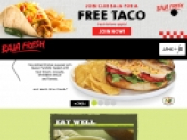 FREE Taco with Any Purchase At Baja Fresh