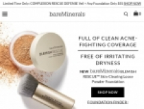 Up To 50% OFF Last Chance Items At Bare Minerals