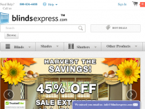 Blinds Express Coupons 15+5% OFF All Blinds And Shades