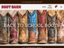 FREE Shipping On $74.99+ Orders At Boot Barn