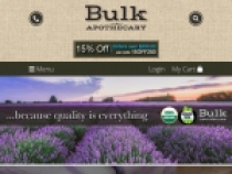 Sign Up To Get Exclusive Coupons & Promotion From Bulk Apothecary