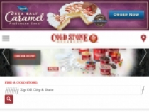 Cold Stone Special Offers W/ Email Signup