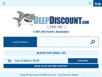 Up To 75% OFF Bargain Bin Sale at DeepDiscount
