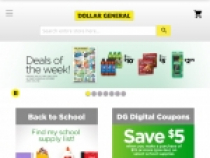 Up To 50% OFF Weekly Ads At Dollar General
