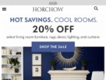 Up To 20% OFF W/ Email Sign Up At Horchow
