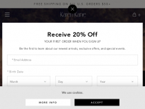 Karen Kane 20% OFF Your First Order With Email Sign Up