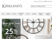 Up To 50% OFF On Sale Products At Kirklands