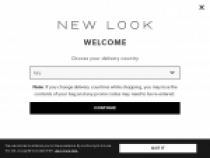Up To 30% OFF First Order W/ Newsletter Sign Up At New Look