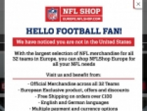 NFL Shop Up To 60% OFF Select Styles