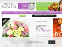 Up To £15 OFF Select Flowers At Prestige Flowers