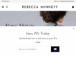 Up To 60% OFF Sale Items At Rebecca Minkoff
