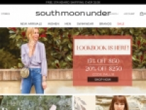 15% OFF Sitewide + FREE Shipping At South Moon Under
