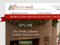 FREE Shipping On Most Orders At Tree Classics