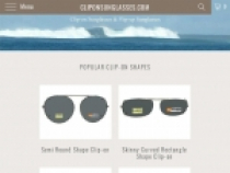 Up To 16% OFF Clearance + FREE Shipping At Clip On Sunglasses