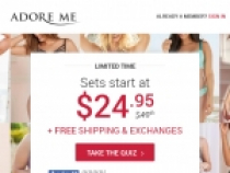 FREE Shipping On All Orders At Adore Me