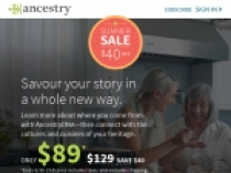 Up To $20 OFF 6-Month U.S. Discovery Membership At Ancestry