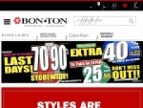 Bon Ton Offers 70% OFF Bonus Guys