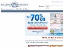 Up to 70% OFF Bank Check Prices at Bradford Exchange Checks
