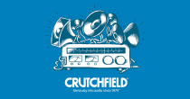 Up To 50% OFF + FREE Shipping W/ Crutchfield Specials