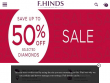 Up To 50% OFF Sale Items + FREE Delivery At F Hinds UK